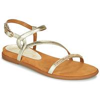 Sapatos Mulher Sandálias Unisa CLARIS Ouro