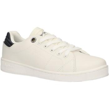 Sapatos Criança Multi-desportos Pepe jeans PBS30388 BROMPTON Blanco