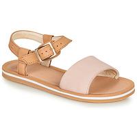 Sapatos Rapariga Sandálias Clarks SKYLARKHOPE K Rosa