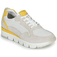 Sapatos Mulher Sapatilhas Marco Tozzi  Branco / Amarelo