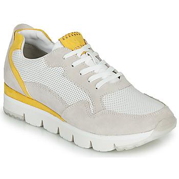 Sapatos Mulher Sapatilhas Marco Tozzi 2-23754 Branco / Amarelo