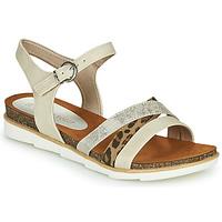 Sapatos Mulher Sandálias Marco Tozzi 2-28410 Bege