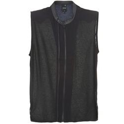 Textil Mulher Tops / Blusas G-Star Raw 5620 CUSTOM Preto