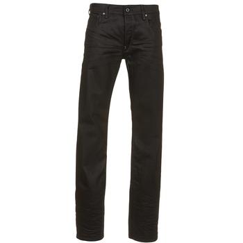 Textil Homem Calças Jeans G-Star Raw ATTAC STRAIGHT Preto