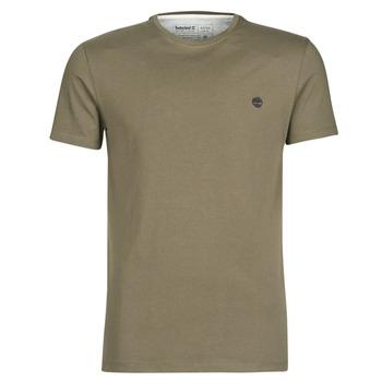 Textil Homem T-Shirt mangas curtas Timberland SS DUNSTAN RIVER CREW TEE Cáqui