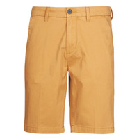 Textil Homem Shorts / Bermudas Timberland SQUAM LAKE STRETCH TWILL STRAIGHT CHINO SHORT Bege
