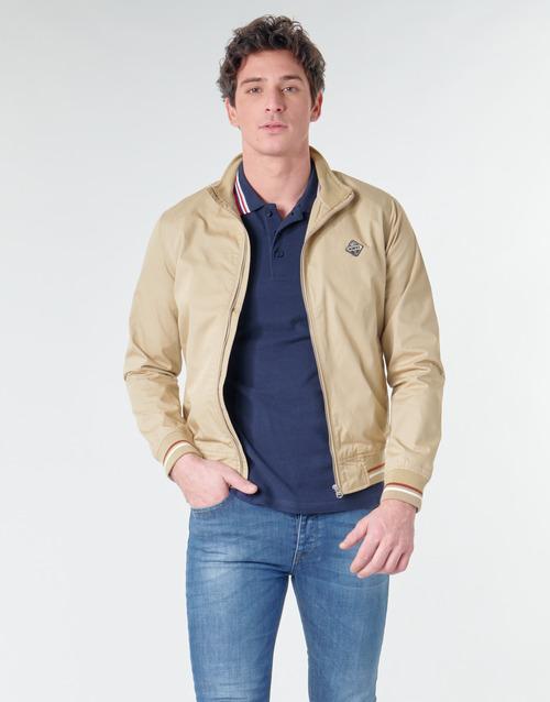 Textil Homem Jaquetas Schott KEN Bege