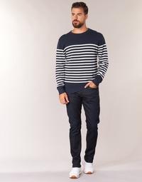 Textil Homem Calças Jeans G-Star Raw 3301 TAPERED Stretch / Ganga