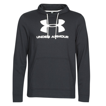 Textil Homem Sweats Under Armour SPORTSTYLE TERRY LOGO HOODIE Preto