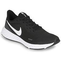 Sapatos Homem Sapatilhas de corrida Nike REVOLUTION 5 Preto / Branco