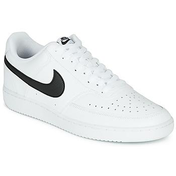 Sapatos Homem Sapatilhas Nike COURT VISION LOW Branco / Preto