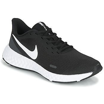Sapatos Mulher Sapatilhas de corrida Nike REVOLUTION 5 Preto / Branco