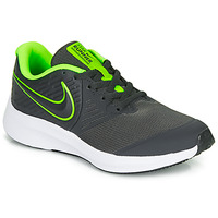 Sapatos Rapaz Multi-desportos Nike STAR RUNNER 2 GS Preto / Verde