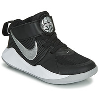 Sapatos Rapaz Multi-desportos Nike TEAM HUSTLE D 9 PS Preto / Prata