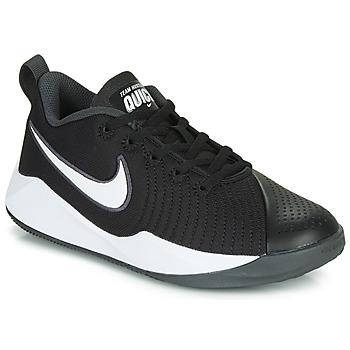 Sapatos Criança Multi-desportos Nike TEAM HUSTLE QUICK 2 GS Preto / Branco