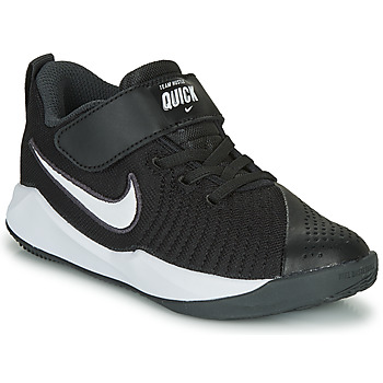 Sapatos Criança Multi-desportos Nike TEAM HUSTLE QUICK 2 PS Preto / Branco