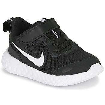 Sapatos Criança Multi-desportos Nike REVOLUTION 5 TD Preto / Branco