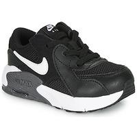 Sapatos Criança Sapatilhas Nike AIR MAX EXCEE TD Preto / Branco