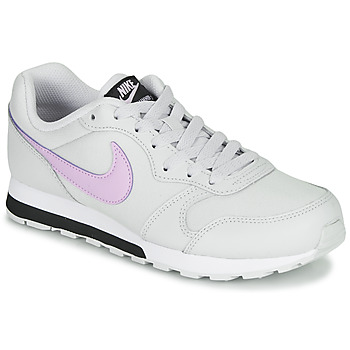 Sapatos Rapariga Sapatilhas Nike MD RUNNER GS Branco / Rosa