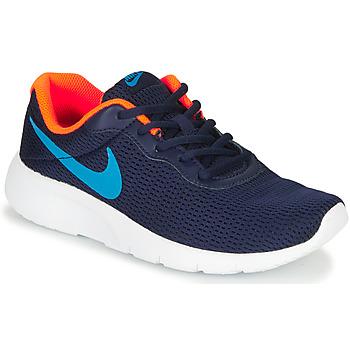 Sapatos Rapaz Sapatilhas Nike TANJUN GS Azul