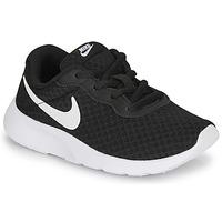 Sapatos Criança Sapatilhas Nike TANJUN PS Preto / Branco