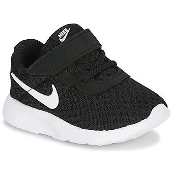 Sapatos Criança Sapatilhas Nike TANJUN TD Preto / Branco