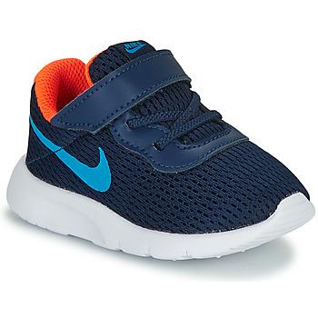 Sapatos Rapaz Sapatilhas Nike TANJUN TD Azul