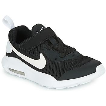 Sapatos Criança Sapatilhas Nike AIR MAX OKETO PS Preto / Branco