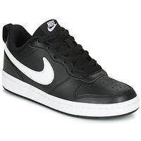 Sapatos Criança Sapatilhas Nike COURT BOROUGH LOW 2 GS Preto / Branco