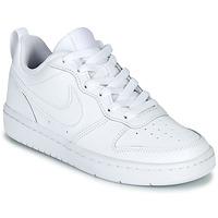 Sapatos Criança Sapatilhas Nike COURT BOROUGH LOW 2 GS Branco