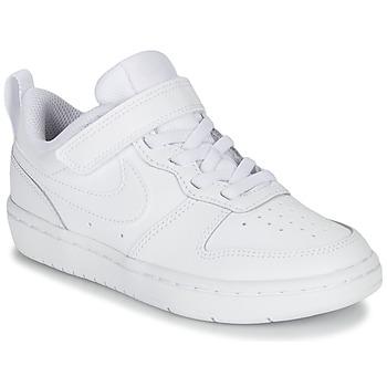 Sapatos Criança Sapatilhas Nike COURT BOROUGH LOW 2 PS Branco