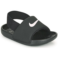Sapatos Criança Sandálias Nike KAWA TD Preto