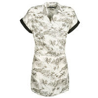 Textil Mulher Vestidos curtos Volcom VACAY ME SS DRESS Branco