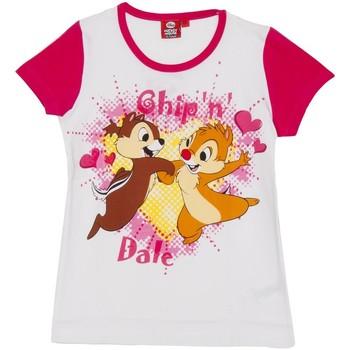 Textil Rapariga T-Shirt mangas curtas Disney Camiseta m/Corta Daisy Rosa