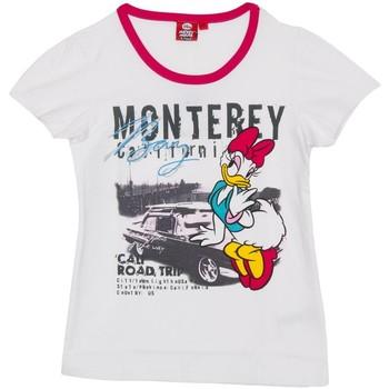 Textil Rapariga T-Shirt mangas curtas Disney Camiseta m/Corta Daisy Branco