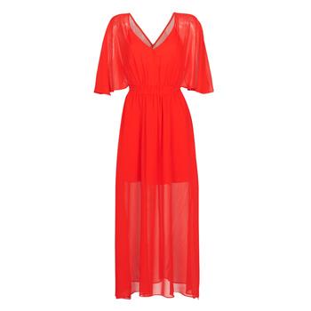 Textil Mulher Vestidos compridos Naf Naf CAMILLE R1 Vermelho