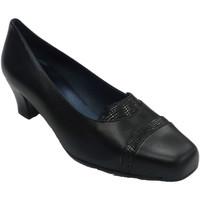 Sapatos Mulher Mocassins Trebede Sapato de mulher cobra  em Preto negro