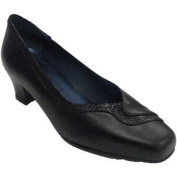 Sapatos Mulher Mocassins Trebede Sapato de salão para mulher  em P negro