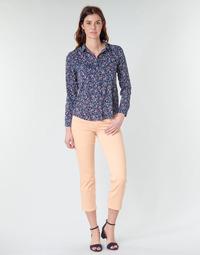 Textil Mulher Calças Freeman T.Porter LOREEN NEW MAGIC COLOR Coral - cor de rosa