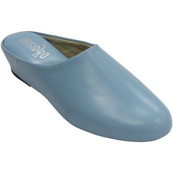 Sapatos Mulher Chinelos Deisidro Tênis mulher abrir a pele de volta para azul