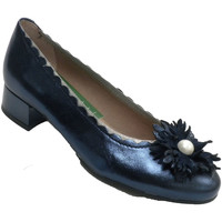 Sapatos Mulher Escarpim Pitillosms Ornamento do handwheel ou do guingão da azul