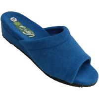 Sapatos Mulher Chinelos Vanity Chancla be home mulher shovel lisa anatô azul