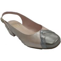 Sapatos Mulher Sandálias Roldán Sapato vestido de mulher aberto atrás de beige