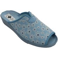 Sapatos Mulher Chinelos Nevada Flip-flops mulher aberta dedo do pé e ca azul