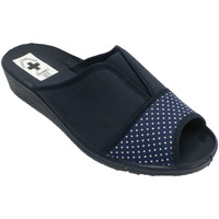 Sapatos Mulher Chinelos Nevada Mulher flip-flops e pá de calcanhar elás azul