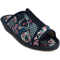 Sapatos Mulher Chinelos Made In Spain 1940 Flip-flops mulher dedo aberto e calcanha azul