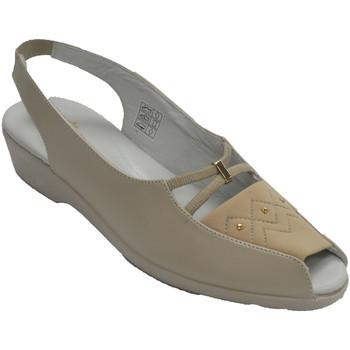 Sapatos Mulher Mocassins Doctor Cutillas Sandálias, mulher, dedo aberto, e, calca beige