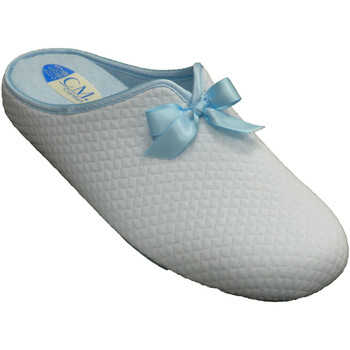 Sapatos Mulher Chinelos Calzamur Sapatos femininos de inverno abertos atr azul