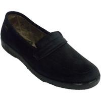 Sapatos Mulher Chinelos Doctor Cutillas Sapatilha de inverno muito larga para mu negro