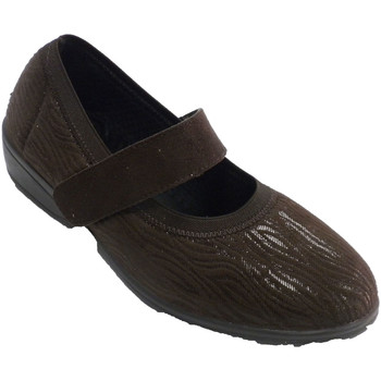 Sapatos Mulher Sapatos Doctor Cutillas Velcro sapatos mulher inverno tipo merce marrón